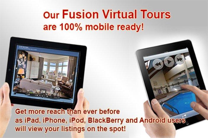 XL Visions' mobile ready Fusion Virtual Tours